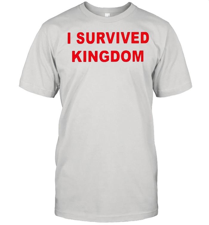 I survived Kingdom shirt Classic Men's T-shirt