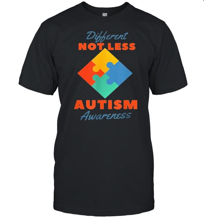 Autism awareness different not less shirt Classic Men's T-shirt