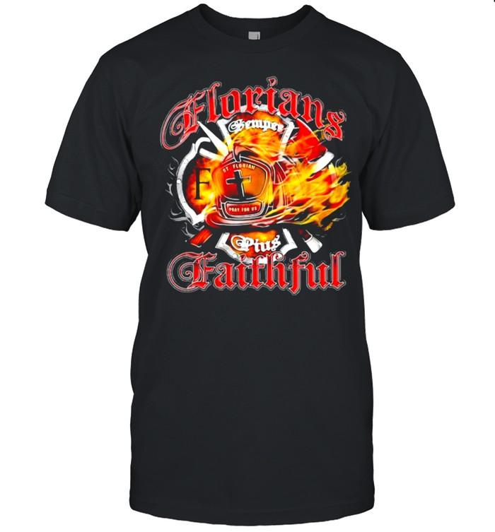 Florians Faithful firefighter shirt Classic Men's T-shirt