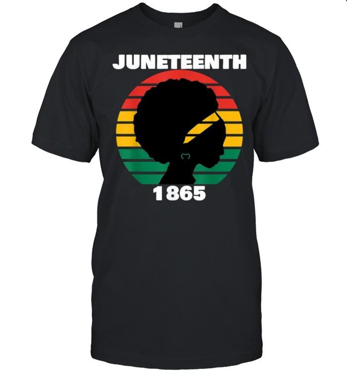 Juneteenth 1865 Queen Melanin Vintage T- Classic Men's T-shirt