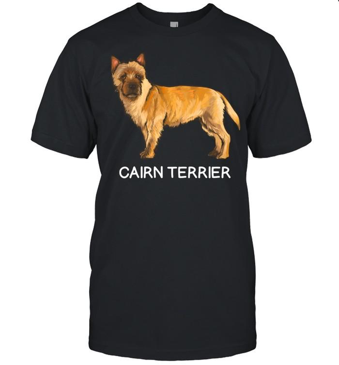 Cairn Terrier Crazy Dog shirt Classic Men's T-shirt