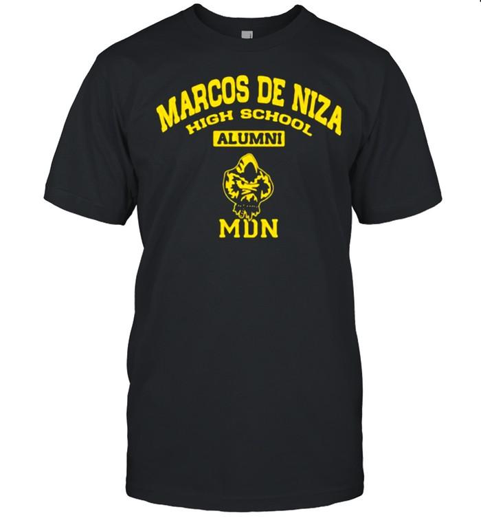 Marcos de niza high school alumini MDN shirt Classic Men's T-shirt
