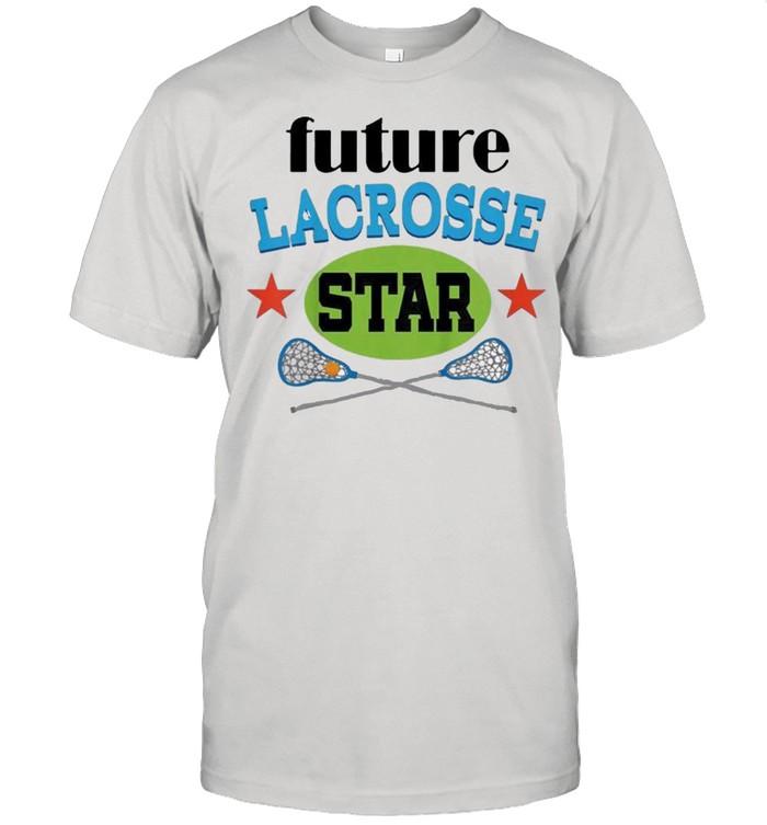 Kids future lacrosse player shirt Classic Men's T-shirt