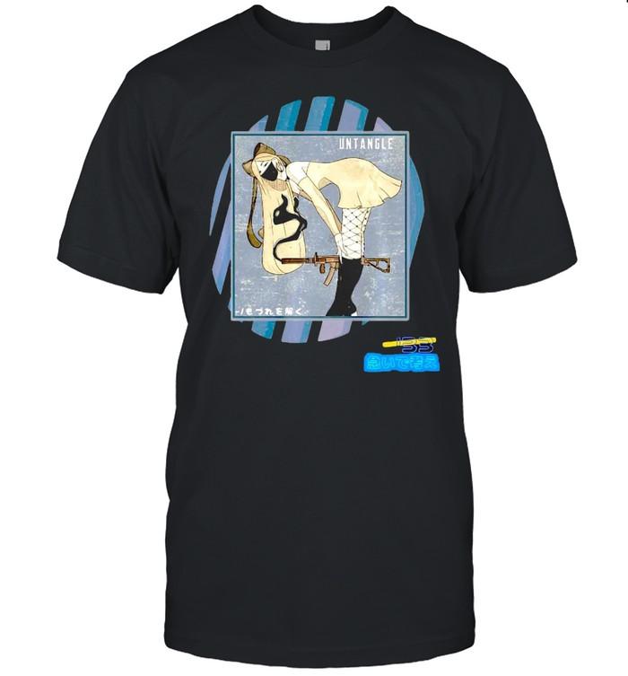 Japanese Street Style Men Women Anime Streetwear T-shirt Classic Men's T-shirt