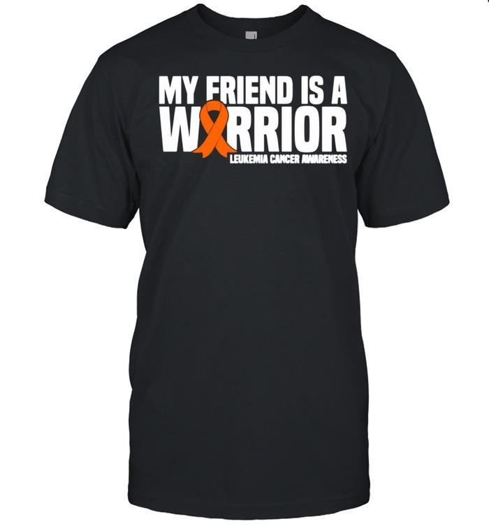 My Friend is a Warrior Leukemia Cancer Awareness shirt Classic Men's T-shirt