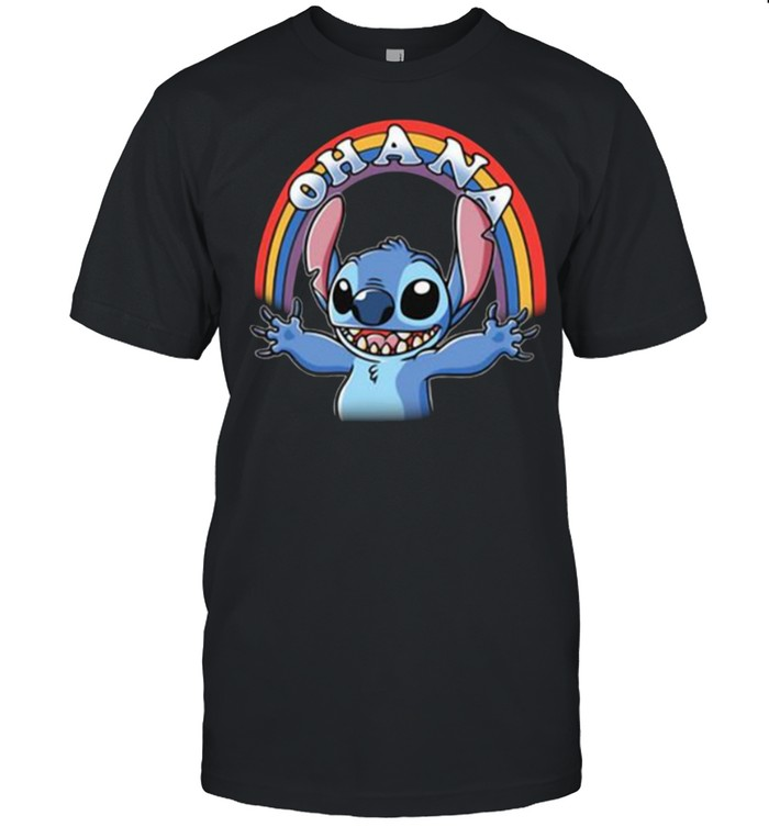 Ohana Raibow Stitch  Classic Men's T-shirt