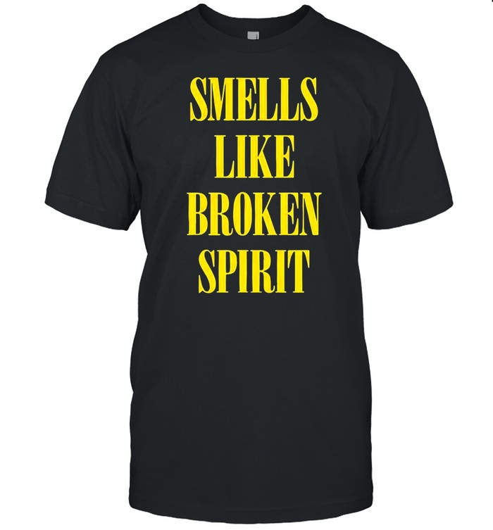 Hot smells like broken spirit shirt Classic Men's T-shirt