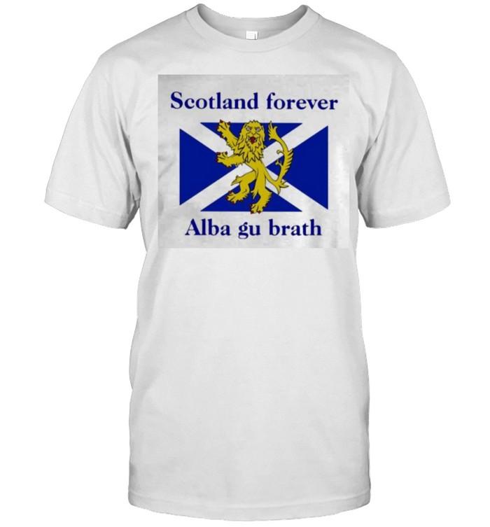 Scotland Forever Alba Gu Brath shirt Classic Men's T-shirt