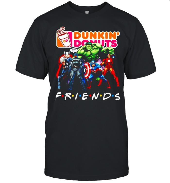 Avengers Dunkin Donuts friends shirt Classic Men's T-shirt