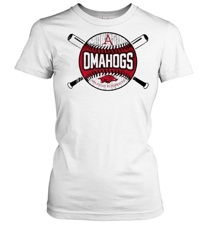 Arkansas Razorback omahogs 2021 shirt Classic Women's T-shirt