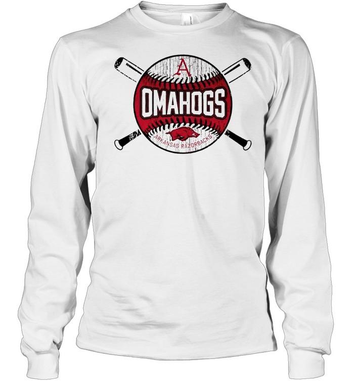Arkansas Razorback omahogs 2021 shirt Long Sleeved T-shirt