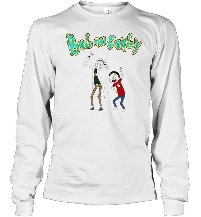 Bob and Corby Rick and Morty shirt Long Sleeved T-shirt