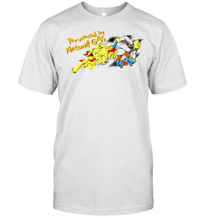 DreamWorks Shrek Powered by Natural Gas shirt Classic Men's T-shirt
