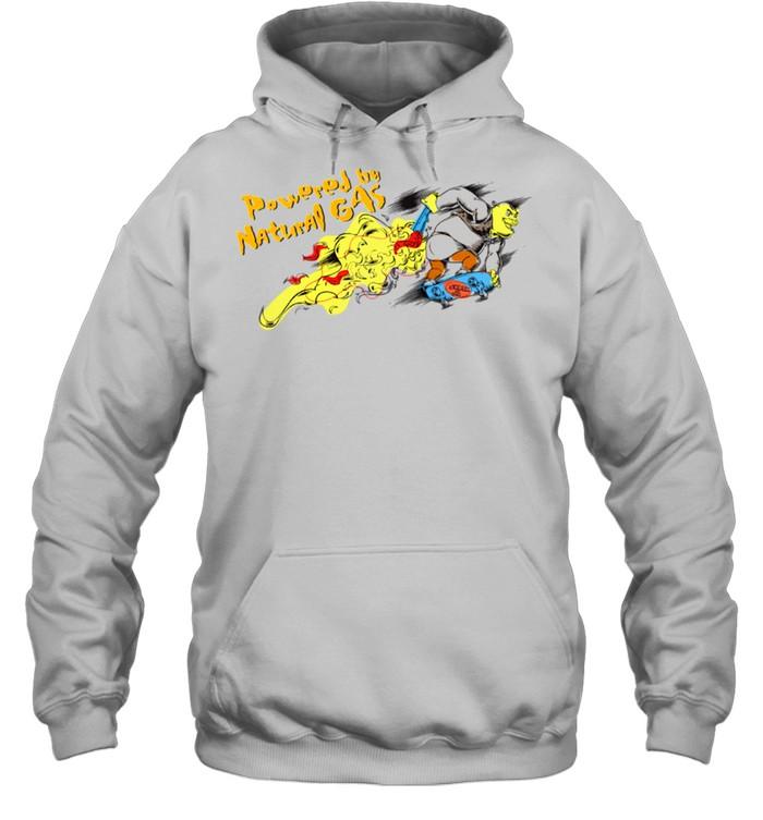DreamWorks Shrek Powered by Natural Gas shirt Unisex Hoodie