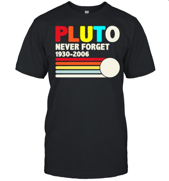 PLUTO NEVER FORGET Vintage T- Classic Men's T-shirt
