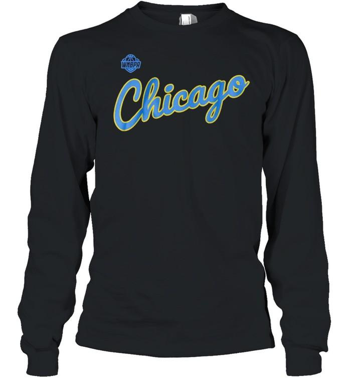 WNBPA City Edition Chicago team shirt Long Sleeved T-shirt