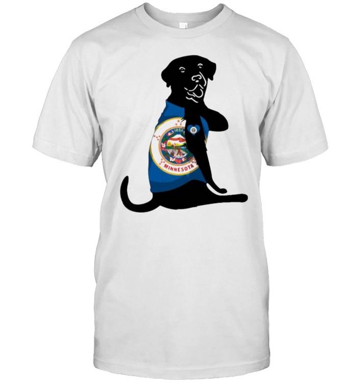 Love Minnesota Dog  Classic Men's T-shirt