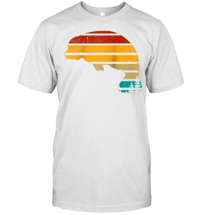 Manatee Floaty Potato Vintage Retro 70S Teens shirt Classic Men's T-shirt