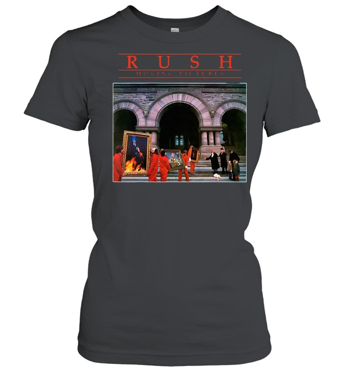 Rushs Moving Pictures Rock T-shirt Classic Women's T-shirt