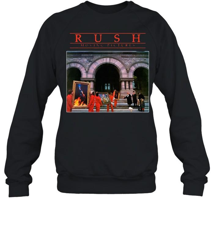 Rushs Moving Pictures Rock T-shirt Unisex Sweatshirt