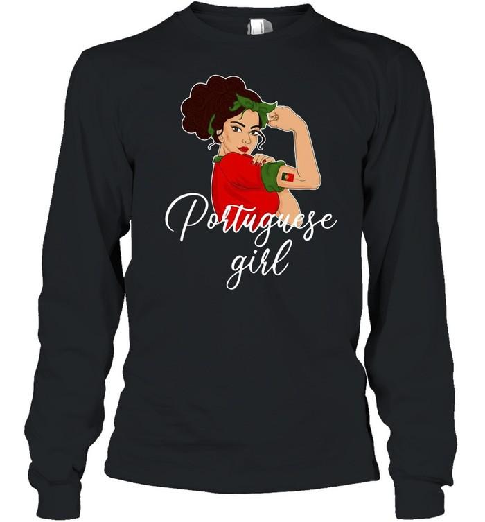Portuguese Girl T-shirt Long Sleeved T-shirt