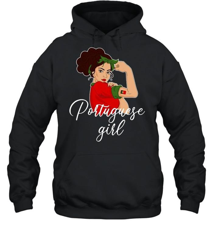 Portuguese Girl T-shirt Unisex Hoodie