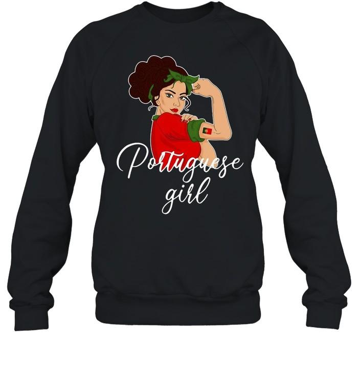 Portuguese Girl T-shirt Unisex Sweatshirt