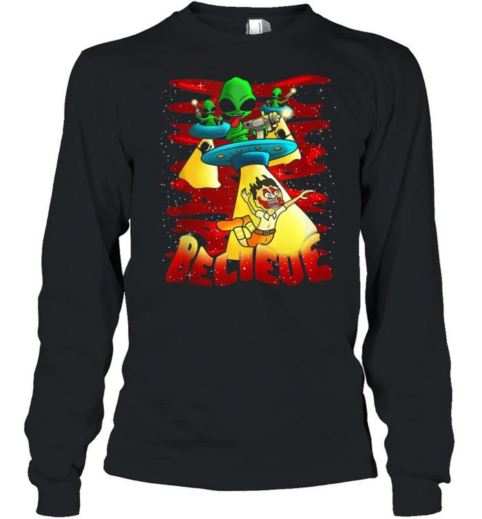 Alien Clothing & Aliens Apparel Believe shirt Long Sleeved T-shirt