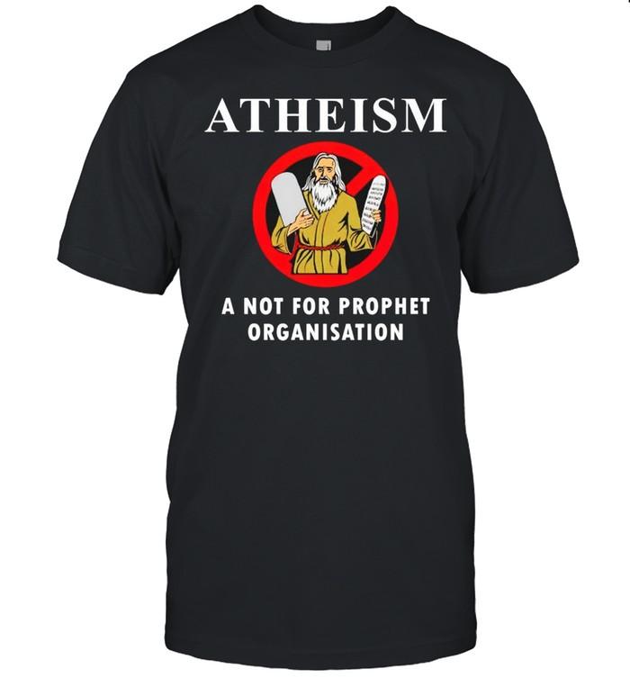 Atheism a not for prophet organisation shirt Classic Men's T-shirt