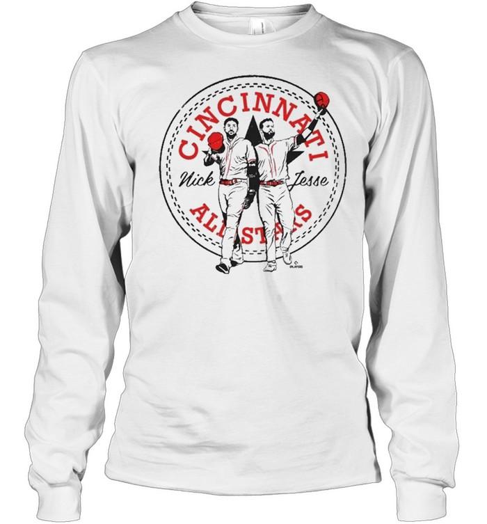 Castellanos winker allstar mlbpa shirt Long Sleeved T-shirt