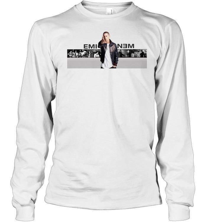Eminem shirt Long Sleeved T-shirt