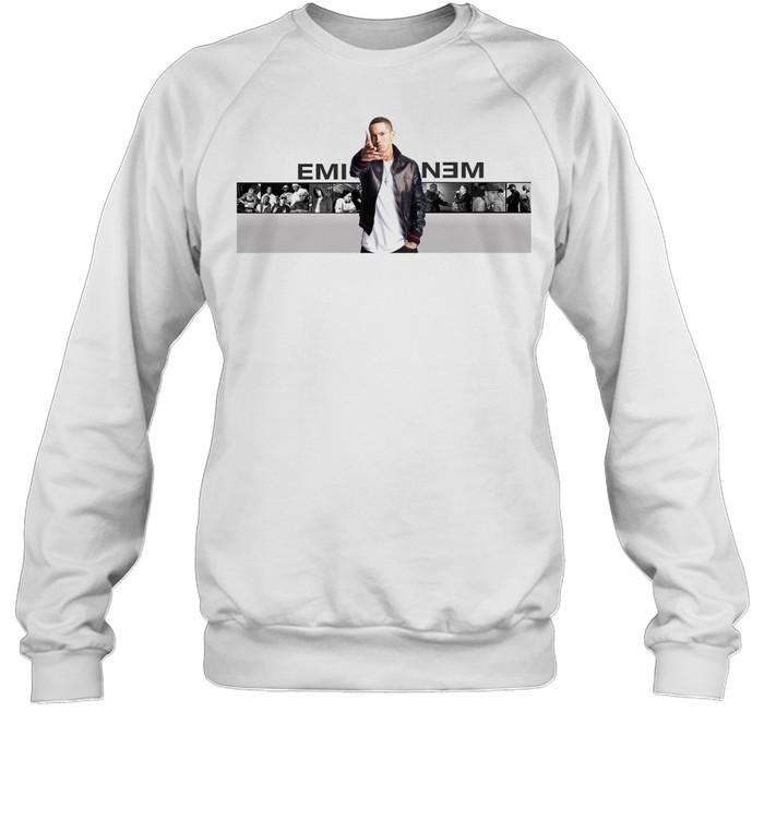 Eminem shirt Unisex Sweatshirt