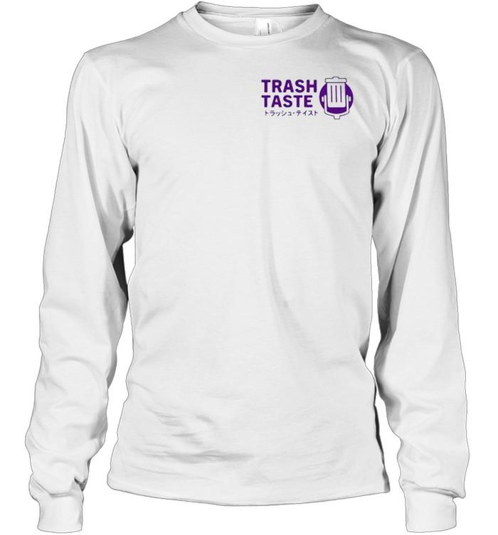 Trash taste merch bakuretsu shirt Long Sleeved T-shirt