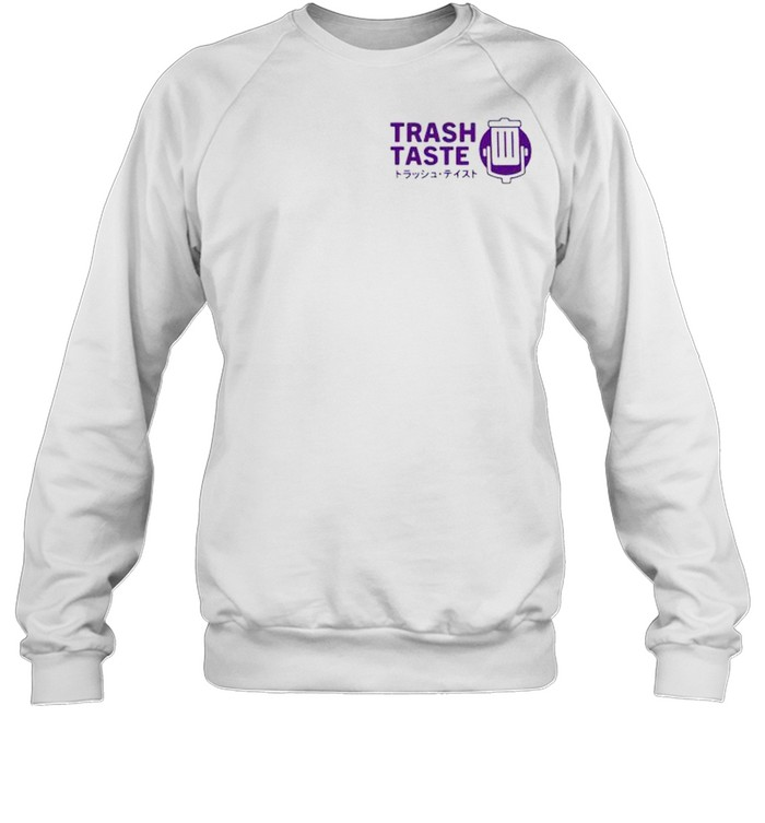 Trash taste merch bakuretsu shirt Unisex Sweatshirt