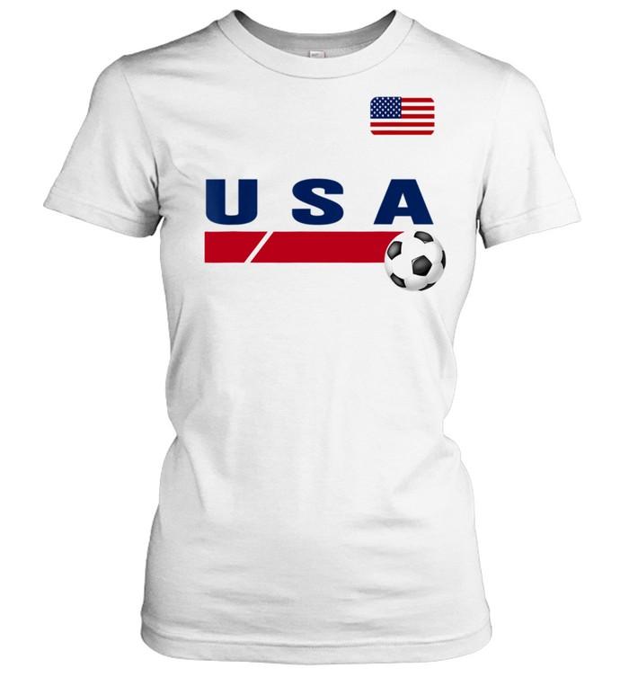 USA Support USA Soccer shirt Classic Women's T-shirt