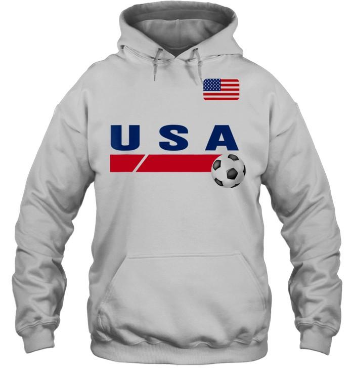 USA Support USA Soccer shirt Unisex Hoodie