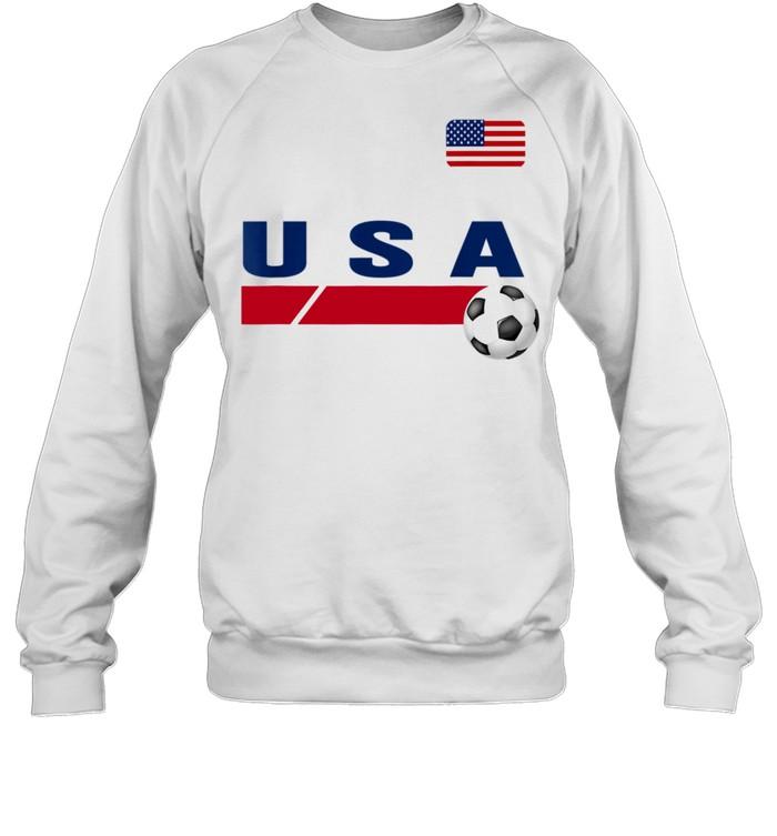 USA Support USA Soccer shirt Unisex Sweatshirt