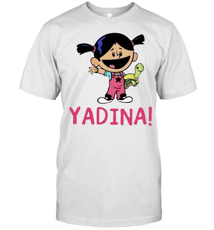 Yadina hand holding turtle shirt Classic Men's T-shirt