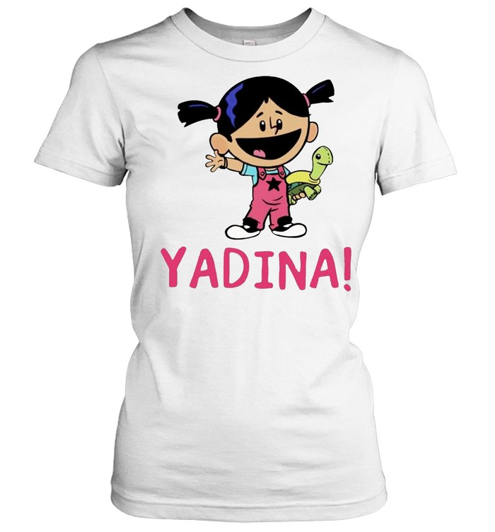 Yadina hand holding turtle shirt Classic Women's T-shirt
