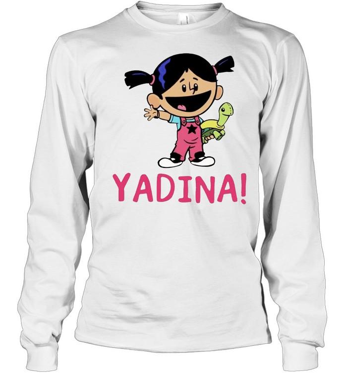 Yadina hand holding turtle shirt Long Sleeved T-shirt