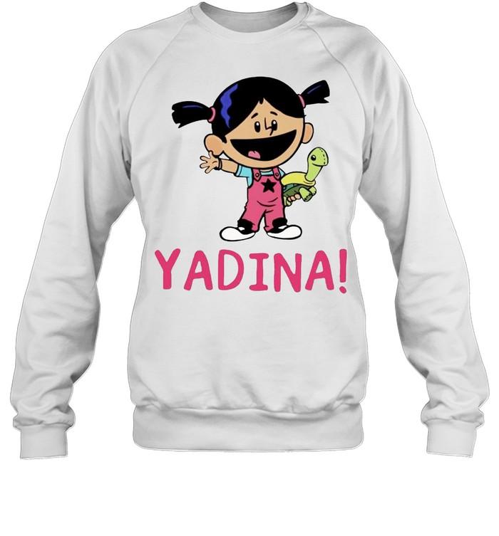 Yadina hand holding turtle shirt Unisex Sweatshirt
