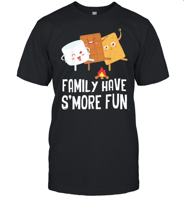 Family Smore Funny Matching Group Camping Camper shirt Classic Men's T-shirt
