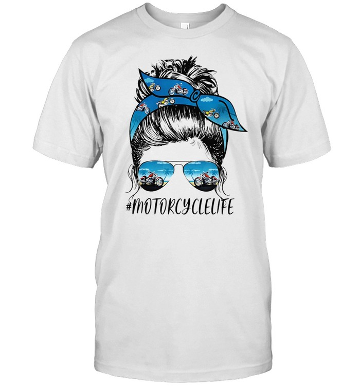 MOTORCYCLE Life Messy Motorcyclelife shirt Classic Men's T-shirt