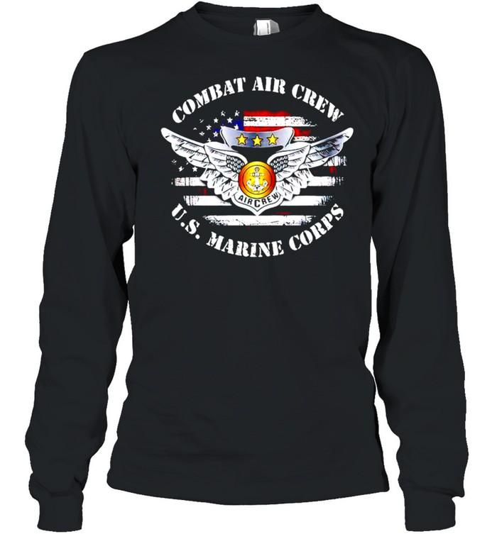Combat aircrew U.S. Marine Corps shirt Long Sleeved T-shirt