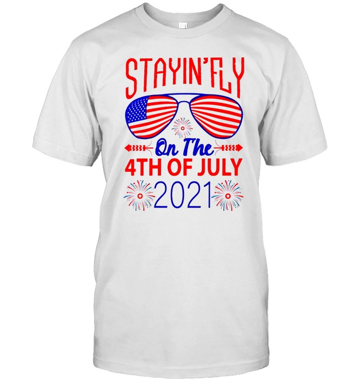 Stayinfly on the 4th of July shirt Classic Men's T-shirt