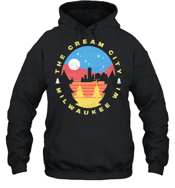Milwaukee Wisconsin The Cream City shirt Unisex Hoodie