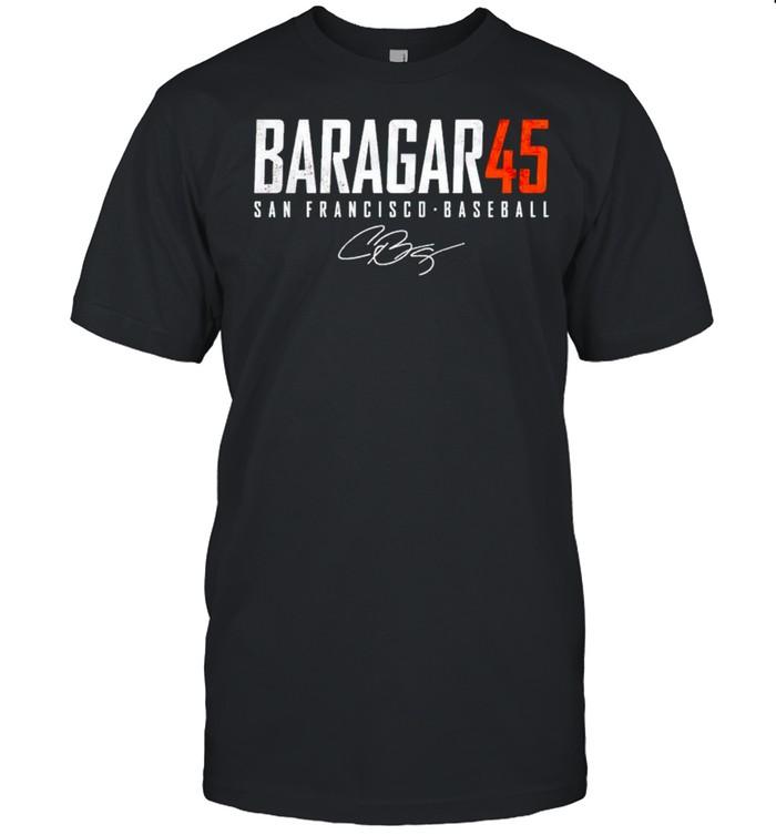 San Francisco Baseball Caleb Baragar 45 signature shirt Classic Men's T-shirt