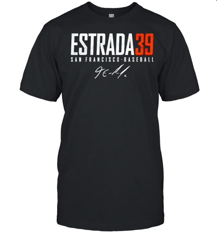 San Francisco Baseball Thairo Estrada 39 signature shirt Classic Men's T-shirt