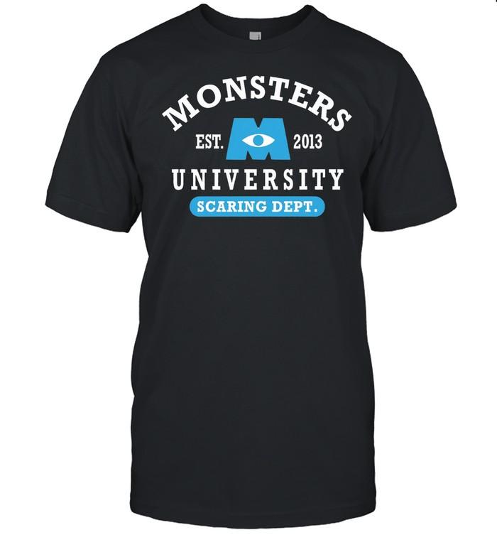Monsters Est 2013 University Scaring Dept shirt Classic Men's T-shirt