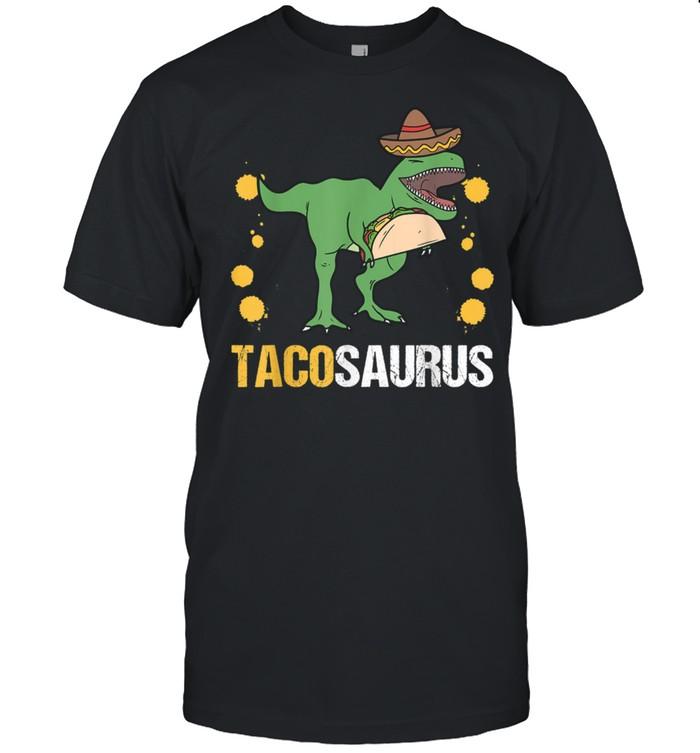 Tacosaurus Tacos Tyrannosaurus Trex Dinosaur Wild Jurassic shirt Classic Men's T-shirt